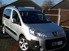 Peugeot Partner, 2010 (10) Silver MPV, Manual Diesel, 15,900 miles