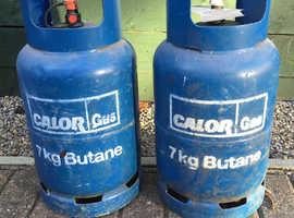 2x Butane Gas Bottles 7kg