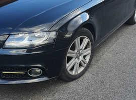 Audi A4, 2008 (08) Black Saloon, Manual Diesel, 131,477 miles