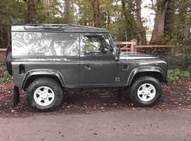 Land Rover Defender 90 2008 (08) Green, Manual Diesel, 41,380 miles