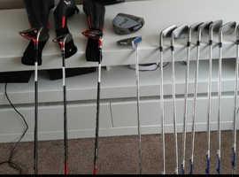 full set of mens RH golf clubs
