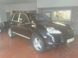 Porsche Cayenne, 2007 (07) black estate, Automatic Petrol, 119,000 miles