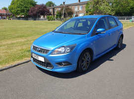 Ford Focus 2.0 Zetec-S, 2009 (59) Blue Hatchback, Manual Petrol, 60,000 miles