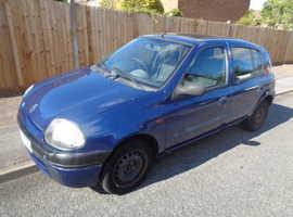 Renault Clio, 2001 (Y) Blue Hatchback, Manual Petrol, 98,440 miles