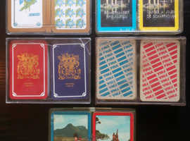5 Dual Packs Of Vintage Playing Cards