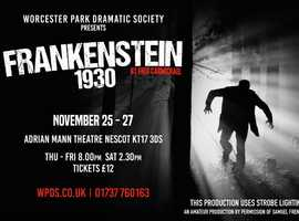 Frankenstein - Award-Winning Theatre Drama