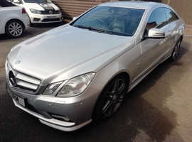 2010 Mercedes E350 CDI BLUE EFFICIENCY COUPE, 109K miles, £6995 - PX & SENSIBLE OFFERS CONSIDERED