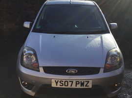 Ford Fiesta, 2007 (07) silver hatchback, Manual Petrol, 111,000 miles