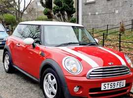 Mini MINI, 2009 (59) red hatchback, Manual Diesel, 69,240 miles