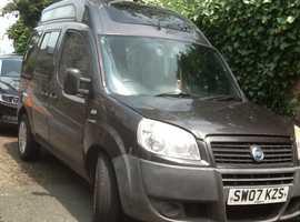 Fiat Doblo 2 berth camper van with 12 Months MOT