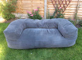 Grey Bean Bag sofa