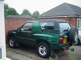 Vauxhall Frontera, 1997 (R) Green Estate, Manual Petrol, 122,000 miles