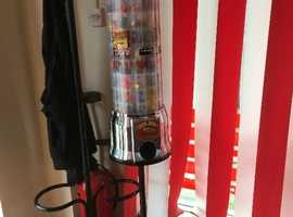 Calling all Barbers Hair dressers Arcade candy sweet treat machine vending non electric gum ball