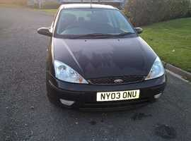 Ford FOCUS GHIA AUTO, 2004 (53) Black Hatchback, Manual Petrol, 39,000 miles