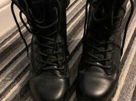Steal toecap boots
