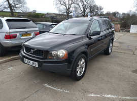Volvo Xc90, 2005 (54) Black Estate, Semi auto Diesel, 140,000 miles