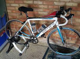 Carrera Road Bike+ new cross trainer+ new wheel.
