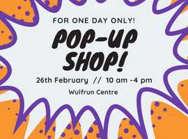 Pop-Up Shop: Quality items for low prices!