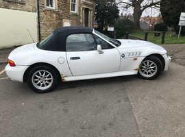 BMW Z3, 1998 (R) White Convertible, Manual Petrol, 106,000 miles