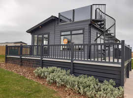 New Prestige Buckland 40x20 Roof Terrace  Lodge Holiday Home For Sale