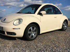 Volkswagen Beetle, 2007 (57) Beige Hatchback, Manual Petrol, 77,000 miles
