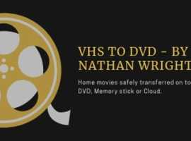 Home movies on to DVD, memory stick, or cloud.