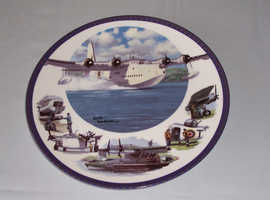 Collectors Plate 'Coastal Command' - Keith Woodcock - Royal Worcester