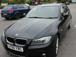 BMW 3 Series, 2010 (60) Black Saloon, Manual Diesel, 68,966 miles