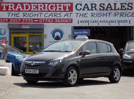 Vauxhall Corsa, 2014 (64) Grey Hatchback, Manual Petrol, 78,737 miles