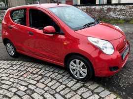 Suzuki Alto, 2009 (09) Red Hatchback, Manual Petrol, 65,000 miles Full service history 12m MOT