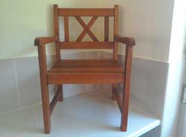 Small garden chair