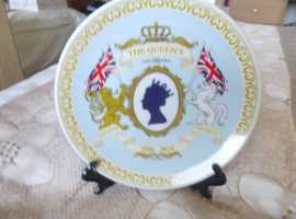 THE QUEENS 90th BIRTHDAY COMMEMORATIVE PLATE