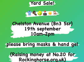 Yard Sale - Chelston Avenue, 19th September