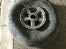 Spittfire aircraft wheel