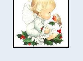 Handmade christmas cards , hand made 50p each