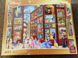 Disney art gallery 1500 piece jigsaw puzzle