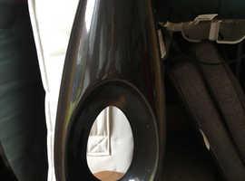 Vase in black