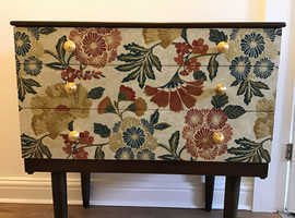 Restyled vintage chest of drawers