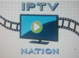 IPTV APP FIRESTICK ANDROID SMART TV SONY LG SAMSUNG PHILIPS 1 YEAR REGISTRATION