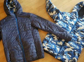 Reversable Boys Coat Jacket age 12-14 worn only few times