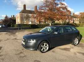 Audi A3, 2009 (59) Grey Hatchback, Manual Petrol, 78,000 miles