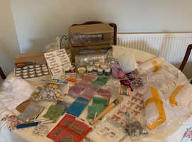Job lot business, Loads of bauble craft items also other crafts joblot