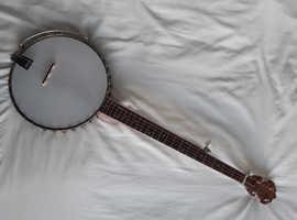 5 string open back banjo