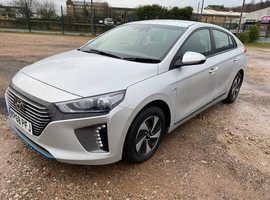 Hyundai IONIQ, 2018 (68) Silver Hatchback, Semi auto Hybrid, 39,000 miles