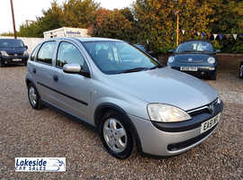 Vauxhall Corsa Elegance 1.2 Litre 5 Door Hatchback, Lovely Condition, New MOT, Full Service History.