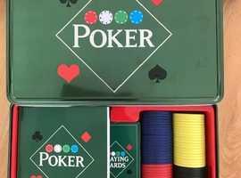 Poker set and Poker chips