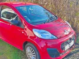 Peugeot 107, 2012 (12) Red Hatchback, Manual Petrol, 63,000 miles