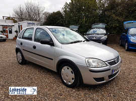 Vauxhall Corsa Life 1.0 Litre 5 Door Hatchback, Only 81,000 Miles, New MOT, FSH, Cheap Insurance Group.