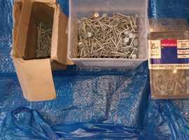 Galvanised Clout Nails Various Sizes