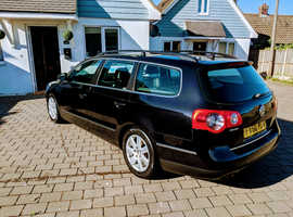 Volkswagen Passat, 2010 (60) Black Estate, Manual Diesel, 101,095 miles